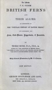 British ferns and their allies by Moore, Thomas