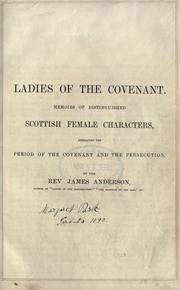 Cover of: The ladies of the Covenant