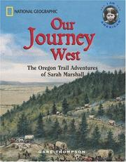 Cover of: Our Journey West