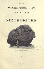 The Ward=Coonley collection of meteorites by Ward, Henry A.