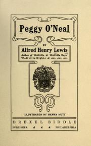 Cover of: Peggy O'Neal