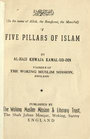 Cover of: Five pillars of Islam