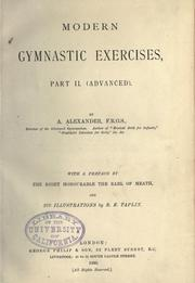 Cover of: Modern gymnastic exercises