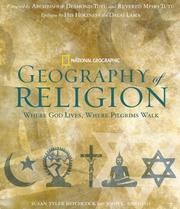 Cover of: Geography of Religion: Where God Lives, Where Pilgrims Walk