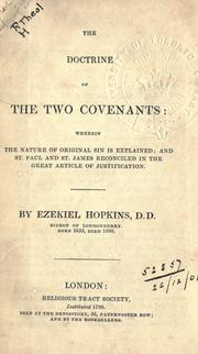 Cover of: The doctrine of the two covenants