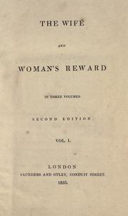 Cover of: The wife: and, Woman's reward.
