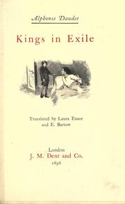 Cover of: Kings in exile