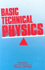 Cover of: Basic technical physics