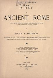 Cover of: A day in ancient Rome