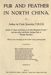 Cover of: Fur and feather in North China
