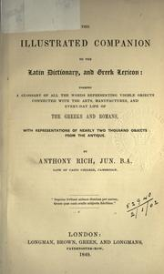 Cover of: The illustrated companion to the Latin dictionary, and Greek lexicon by Anthony Rich
