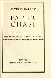 Cover of: Paper chase