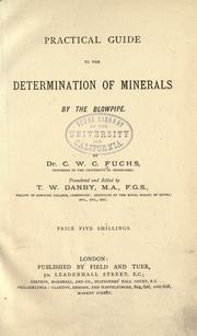 Cover of: Practical guide to the determination of metals by the blowpipe