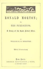 Cover of: Ronald Morton; or, The fire-ships