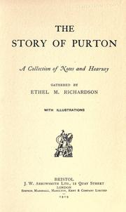 Cover of: The story of Purton