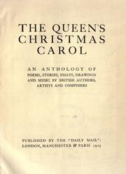 Cover of: The Queen's Christmas carol |