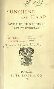 Cover of: Sunshine and haar