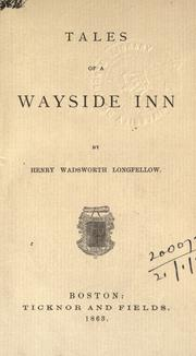 Cover of: Tales of a wayside inn