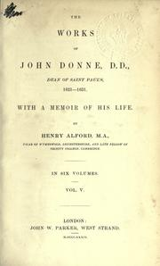 Cover of: Works, with a memoir of his life