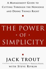 Cover of: The Power of Simplicity | Jack Trout