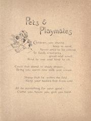 Cover of: Pets and playmates by