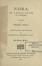 a play analysis of a dolls house by henrik ibsen