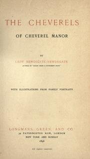Cover of: The Cheverels of Cheverel manor