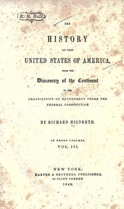 Cover of: History of the United States from the Compromise of 1850 to the McKinley-Bryan campaign of 1896