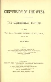 Cover of: The continental Teutons