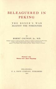 Beleaguered in Peking by Robert Coltman