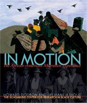 Cover of: In Motion: The African-American Migration Experience