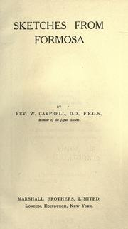 Cover of: Sketches from Taiwan by Wm Campbell
