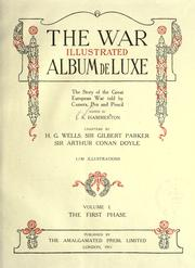 Cover of: The war illustrated album de luxe
