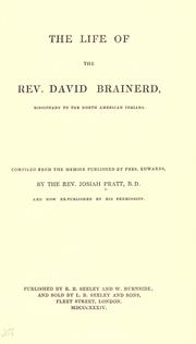 The life of the Rev. David Brainerd by Pratt, Josiah
