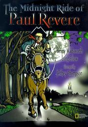 Cover of: The midnight ride of Paul Revere