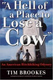 Cover of: A hell of a place to lose a cow