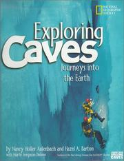 Cover of: Exploring Caves | Nancy Holler Aulenbach