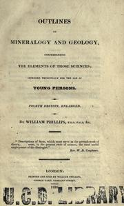 Cover of: Outlines of mineralogy and geology
