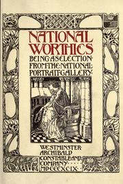 Cover of: National worthies