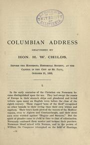 Cover of: Columbian address