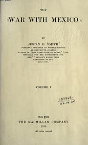 Cover of: The War With Mexico