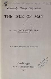 Cover of: The Isle of Man