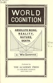 Cover of: World cognition