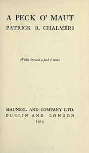 Cover of: A peck o' maut