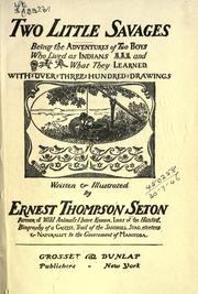 Cover of: Two little savages | Ernest Thompson Seton