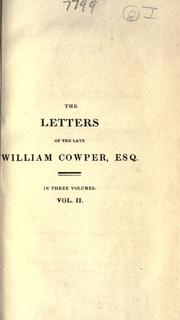 Cover of: Letters to his friends: Rev. by his kinsman, J. Johnson.