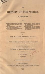 Cover of: The history of the world, in five books