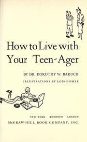 Cover of: How to Live with Your Teenager