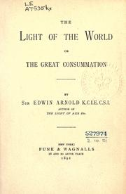 Cover of: The light of the world