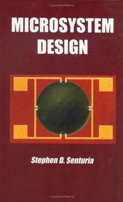 Microsystem design by Stephen D. Senturia